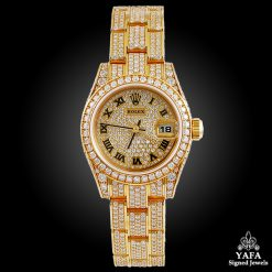 ROLEX Lady Datejust 26mm Diamond Oyster Watch
