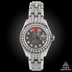 ROLEX Mother-of-Pearl, Diamond DateJust Wristwatch