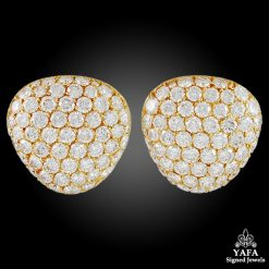 VAN CLEEF & ARPELS Pave Diamonds Earrings