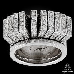 CARTIER Diamond Flexible Movable Ring