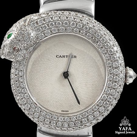 CARTIER Diamond Panther Ladies Watch
