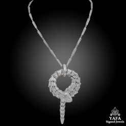 BULGARI Diamond Serpenti Large Pendant Necklace