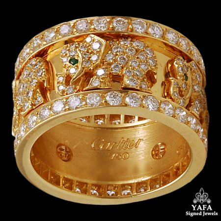 CARTIER Diamond Elephant Ring