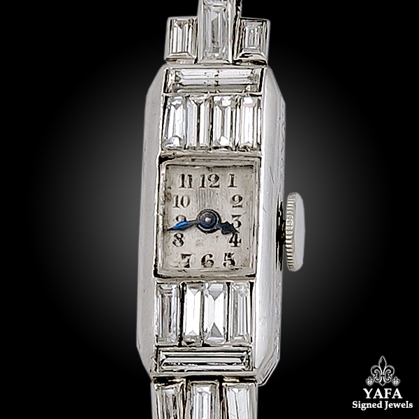 Art Deco Diamond Lady's Wrist Watch