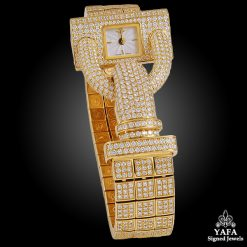 VAN CLEEF & ARPELS Diamond Cadenas Watch