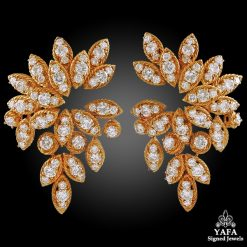 1970s VAN CLEEF & ARPELS Diamond Earrings