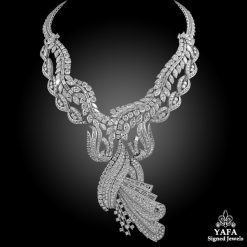 1960s Platinum Diamond Necklace