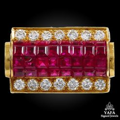 VAN CLEEF & ARPELS Mystery-Set Ruby Ring