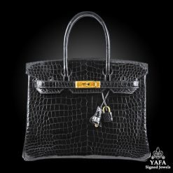 Hérmes 30cm Black Birkin Bag