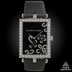 VAN CLEEF & ARPELS Diamond Bezel Flower Face Watch