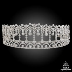 Platinum Diamond Tiara - 40.30 cts.