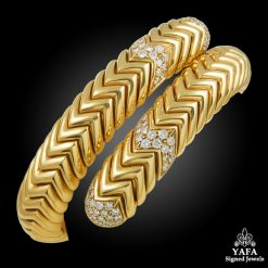 BULGARI Diamond Spiga Bracelet