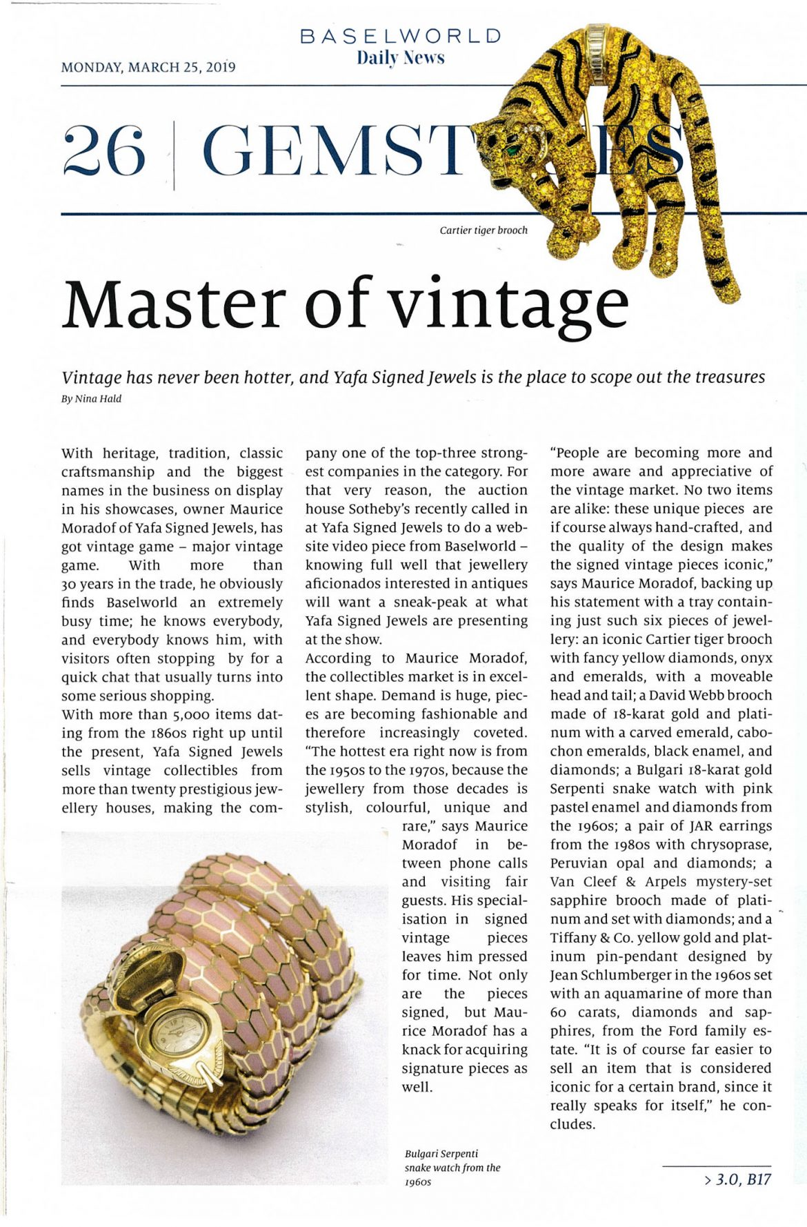 Master of Vintage - BaselWorld Daily News
