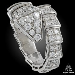 BULGARI Diamond Serpenti Ring - Small