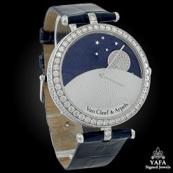 VAN CLEEF & ARPELS Diamond Day & Night Watch