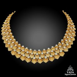 1950s VAN CLEEF & ARPELS Diamond Necklace