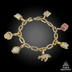 CARTIER Seven Detachable Charm Bracelet