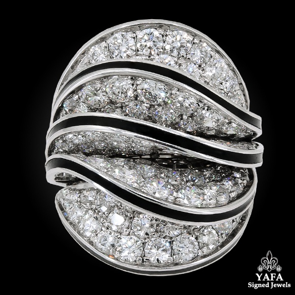 CARTIER Diamond Paris Nouvelle Vague Ring