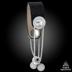 VAN CLEEF & ARPELS Diamond, Mother of Pearl Ludo Pampilles Wristwatch