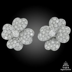 VAN CLEEF & ARPELS Diamond Cosmo Earrings