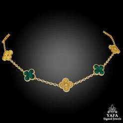 VAN CLEEF & ARPELS Alhambra® Limited Edition Malachite Necklace