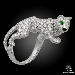 CARTIER Panthere Diamond Panther Body Ring