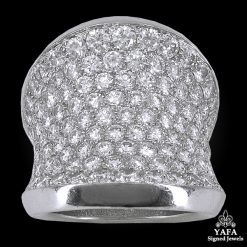 CARTIER Diamond Chalice Cocktail Ring