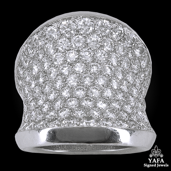 CARTIER Diamond Chalice Ring