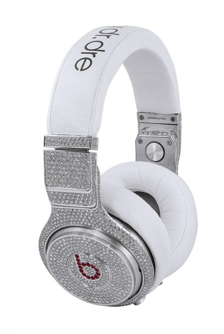 GRAFF x BEATS PRO by DR. DRE Diamond Ruby Headphones