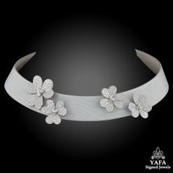 VAN CLEEF & ARPELS Frivole Diamond Collar Necklace