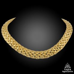 VAN CLEEF & ARPELS Articulated Link Collar Necklace