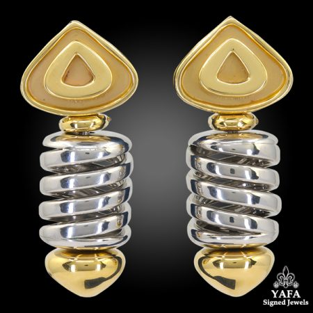 MARINA B Corkscrew Earrings