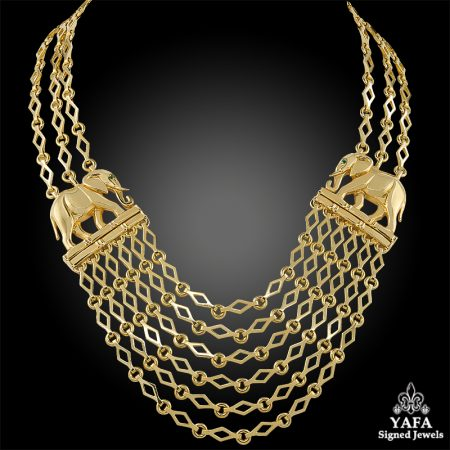 CARTIER Panthere Link Necklace