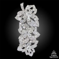 CARTIER 1930s Diamond Brooch