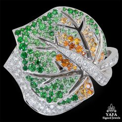 VAN CLEEF & ARPELS Diamond, Multi-Color Sapphire Ring