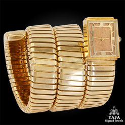 BULGARI Tubogas Square Head Watch