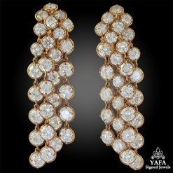 VAN CLEEF & ARPELS Diamond Palmyre Earrings