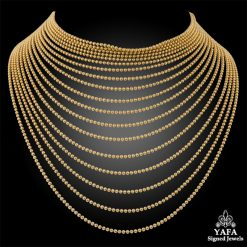 CARTIER Bead Choker Necklace
